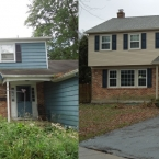 Mt laurel NJ exterior renovation